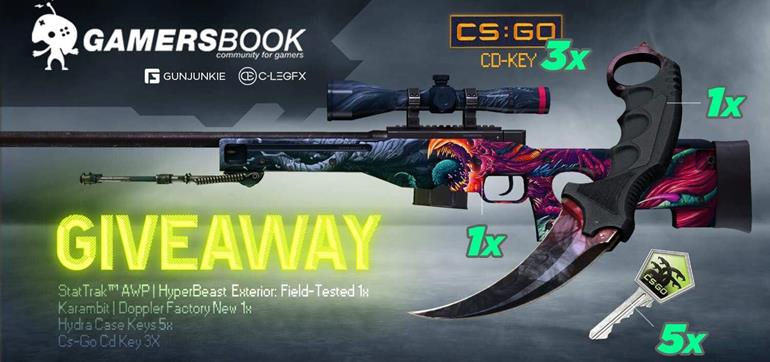 Counter-Strike: Global Offensive giveaway